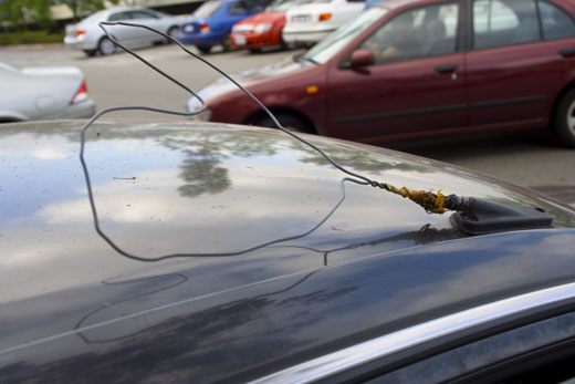car antenna, curtin university