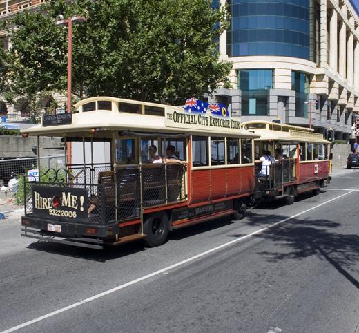 perth tram