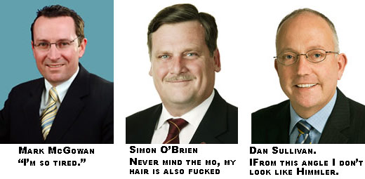 First three worst contenders. McGowan Lab. O'brien Lib. and Sullivan for Invisibility and stupidity .com AKA Family Fist.