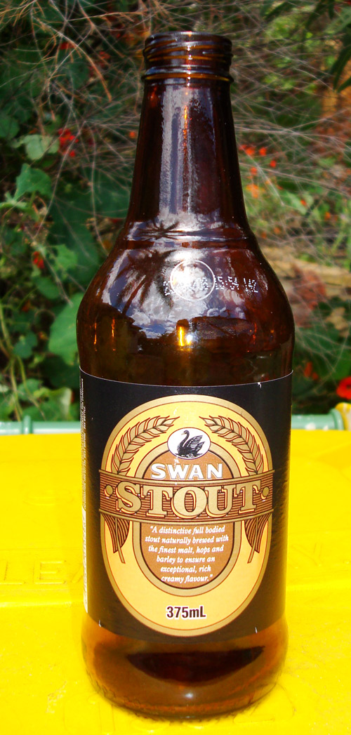The last known stubbie of Swan Stout