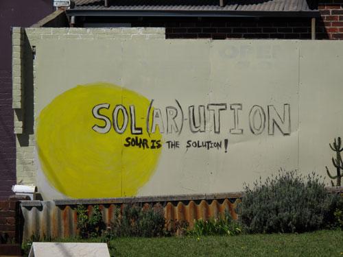 Solar softened brain