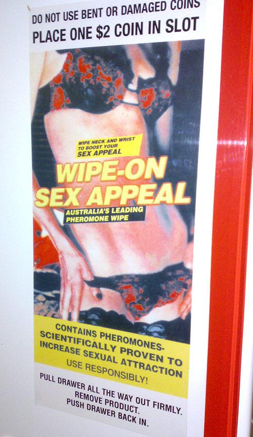 sex wipe