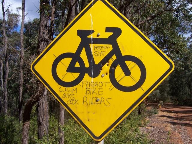 faggot bike riders