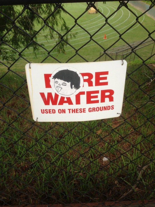 bore water
